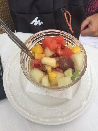Augusta Spa Resort: Menús deliciosos !!!!