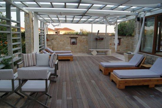 Nostos Hotel: Site de la piscine intérieure