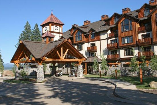 Tamarack Resort: Entrance Lodge at Osprey Meadows