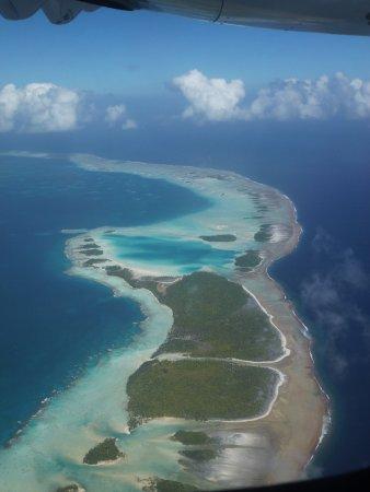 Tikehau Pearl Beach Resort: vue aérienne sur les atolls