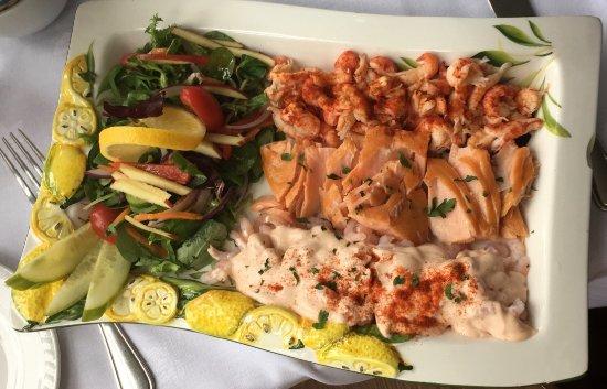 Colintraive, UK: Seafood salad