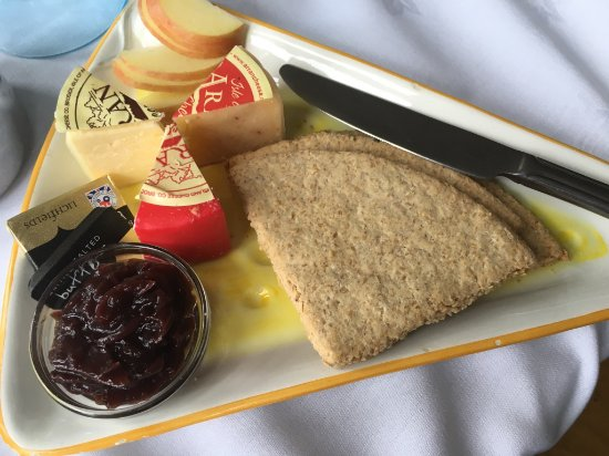 Colintraive, UK: Cheese Platter