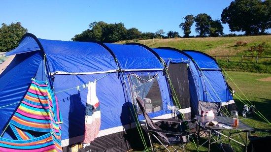 Rozel Camping Park: Lower field