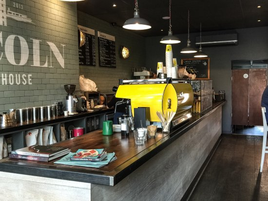 Lincoln Coffee House: Interior