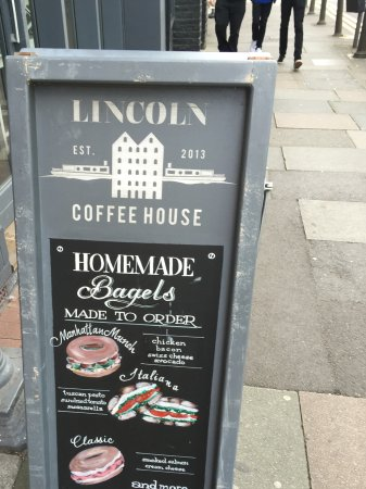 Lincoln Coffee House: Homemade Bagels