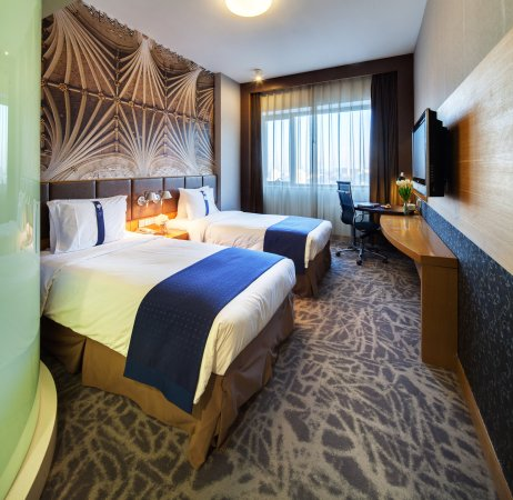 Holiday Inn Express Beijing Wangjing: Stardard twin bed room
