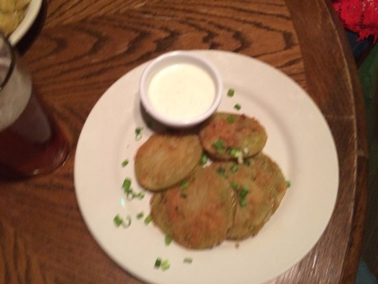 Bone Fire Smokehouse: Fried Green Tomatoes, yum