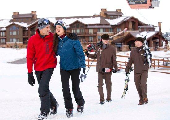 Waldorf Astoria Park City: Ski Couple