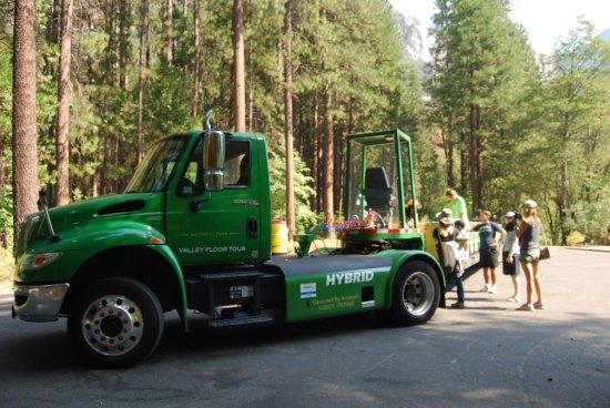 ... Yosemite Valley Floor Tour Image ...