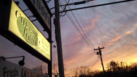 Kingston, Nowy Jork: Sunset.