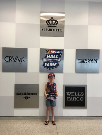 NASCAR Hall of Fame : My Son
