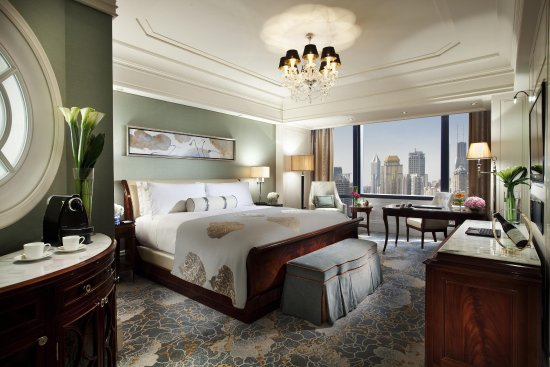 Waldorf Astoria Shanghai on the Bund: WA King Deluxe City Room