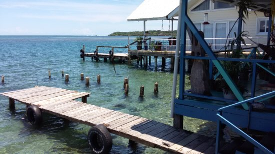 Cocomo on the Sea: Looking right from the deck