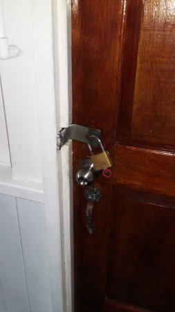 Cocomo on the Sea: There is a reason the rooms have padlocks on the doors.