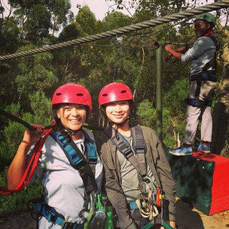 Hermanus, Republika Południowej Afryki: Safe but exhilarating zip lining