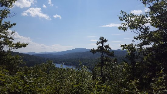 Ludlow, VT: Views from the top of the Vista Trail.