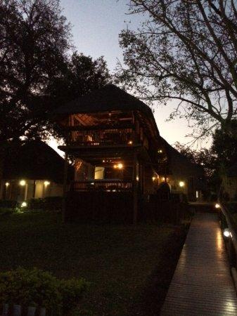 Sabie River Bush Lodge: Restaurant