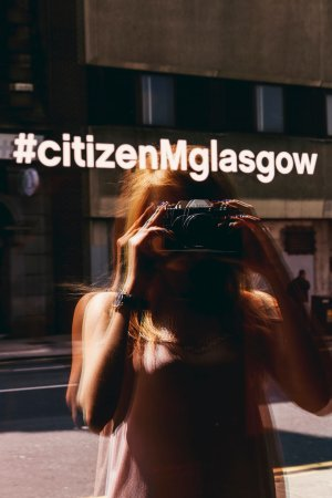 citizenM Glasgow: living space