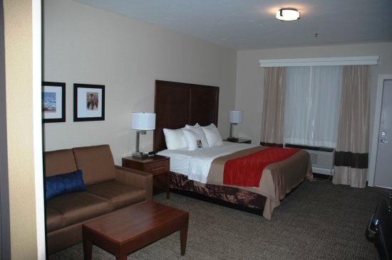 Comfort Inn: Deluxe King Room