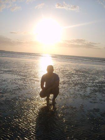 Areia Branca, RN: Pôr do sol!