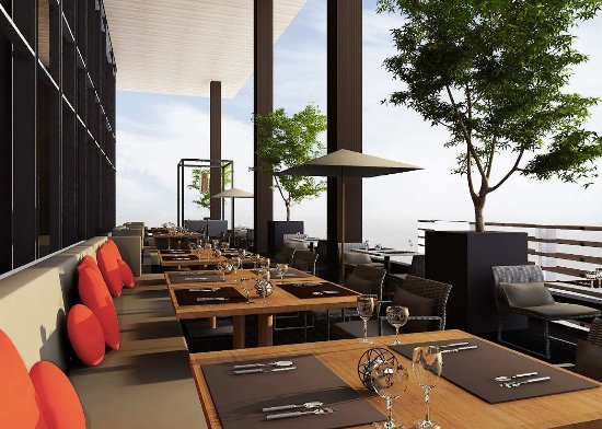 Hilton Pattaya: Edge Restaurant - Outdoor