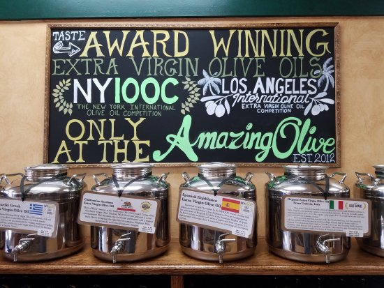 Patchogue, Nowy Jork: Award Winning Olive oil