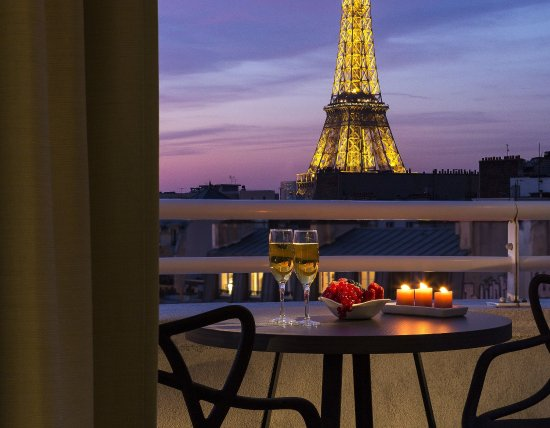 Balcony Of Studio With Eiffel Tower View Citadines Tour