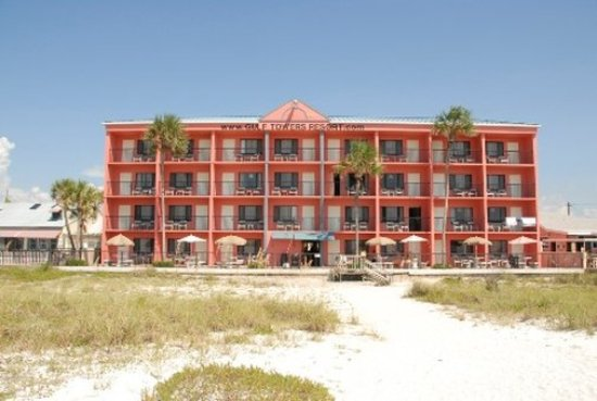 Gulf Towers Resort Motel: Backexterior