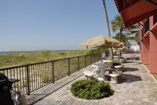 Gulf Towers Resort Motel: Patioview