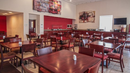 Queretaro, México: Breakfast Area