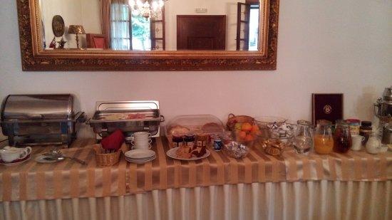 Stramberk, República Checa: Breakfast buffet