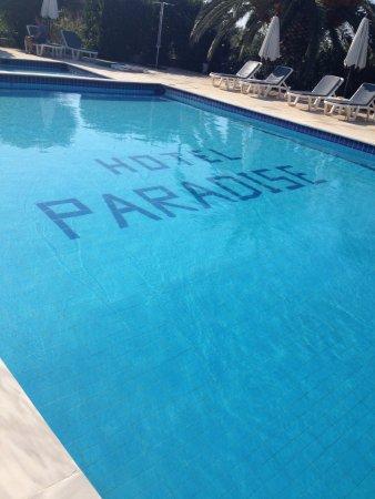 Paradise Hotel: la piscina