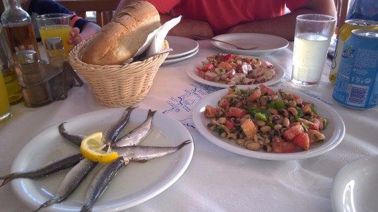 Agios Prokopios, Grecja: κρύα πιάτα