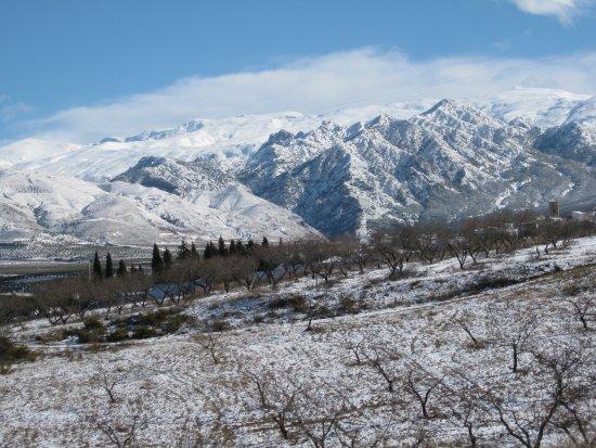 Dilar, Hiszpania: El invierno en Sierra Nevada