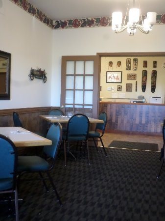Jacksonville, Canada : In the dining room