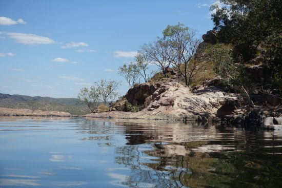 Gunlom Waterfall Creek: Der Pool Oben Am Gunlom Wasserfall