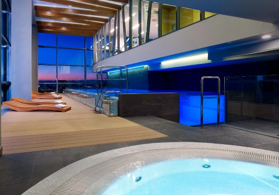 DoubleTree by Hilton Hotel Zagreb: Whirlpool at Spa Area of DoubleTree by Hilton Zagreb