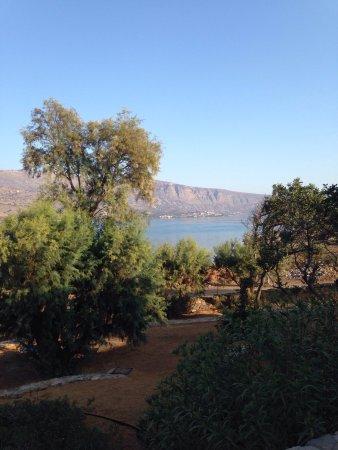 Elounda Island Villas: Blick auf den Garten