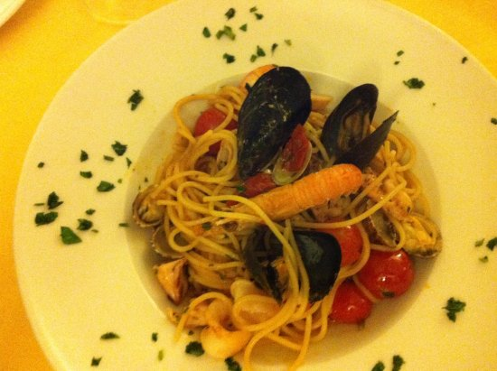 Robin Hood: Spaghetti ai frutti di mare