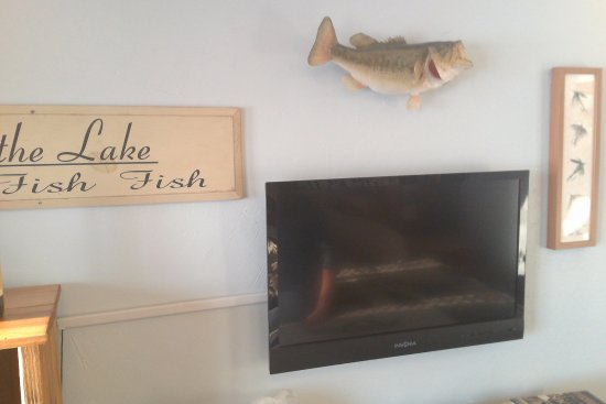 Rice Lake, WI: TV and wall decore