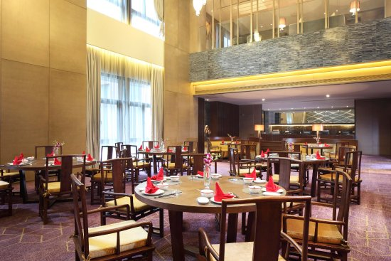 Jiaxing, Chine : Yuxi Chinese Restaurant Tables