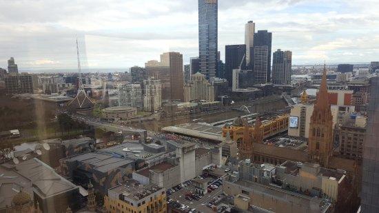Grand Hyatt Melbourne: View from living room
