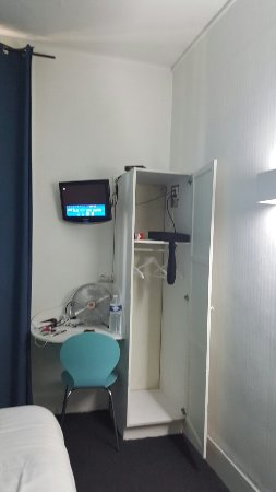 Hotel de la Croix Rousse: Photo de notre chambre ....