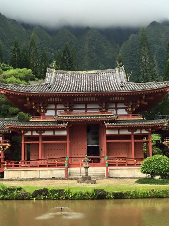Kaneohe, HI: Temple, Valley of the Temple Memorial Park..