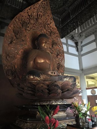 Kaneohe, HI: The inside of the temple