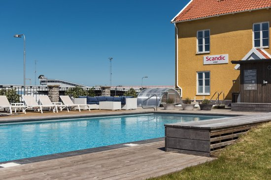 Scandic Visby Outside Pool