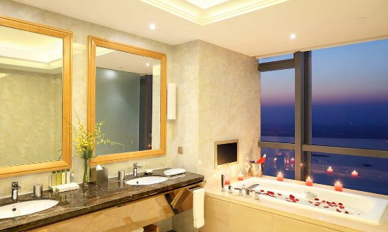 Wuhu, Kina: Suite Bathroom