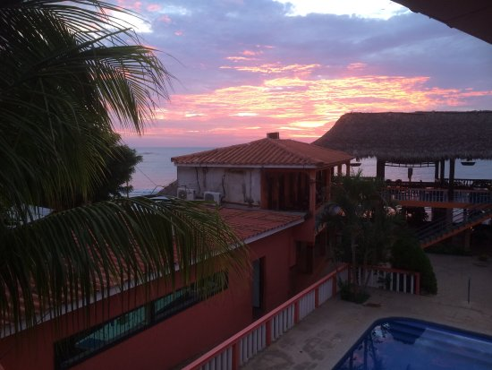 Masachapa, Nicaragua : Sunset view from the room
