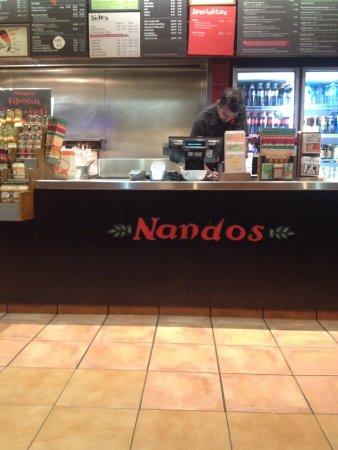 Chermside, أستراليا: Nando's Chermside Westfield