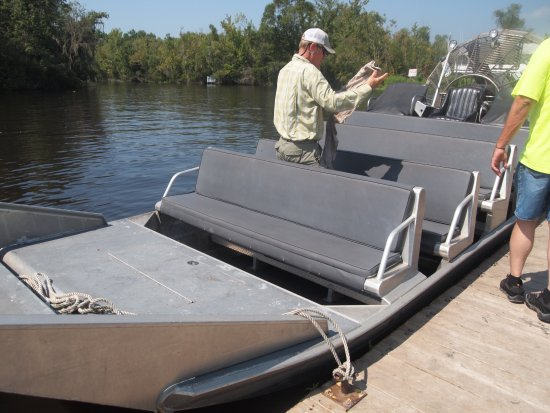 ‪‪Gibson‬, لويزيانا: Bayou Black airboat‬